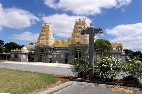 Shiva Vishnu Temple in Melbourne, Australia