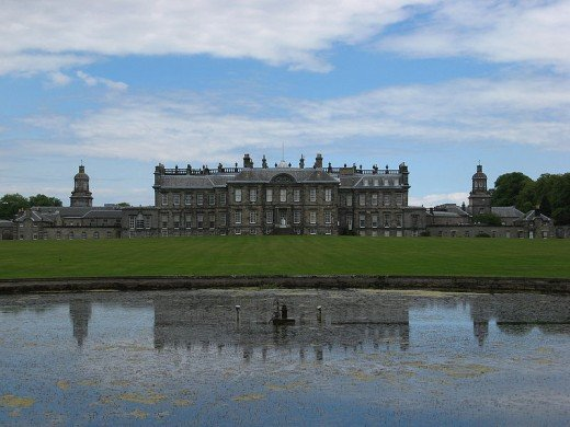 Hopetoun House, Queensferry, Scotland. One of the most beautiful houses in Scotland that is home to many ghosts.