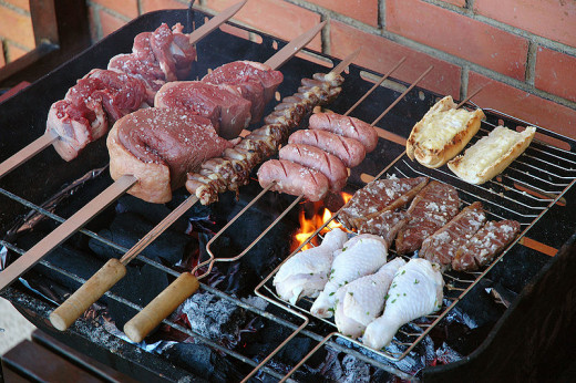 You don't need expensive automatic rotisserie devices to enjoy the benefits of Rotisserie Pork, Lamb, Chicken and other pieces of meat