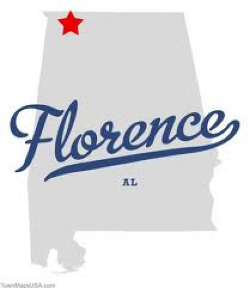 Florence, Alabama has a rich history and there are historical landmark signs all over the city.