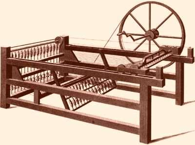 The hand operated spinning mule was another innovation that multiplied the effort of a single person to do the work of several. This led to lay-offs and social unrest.