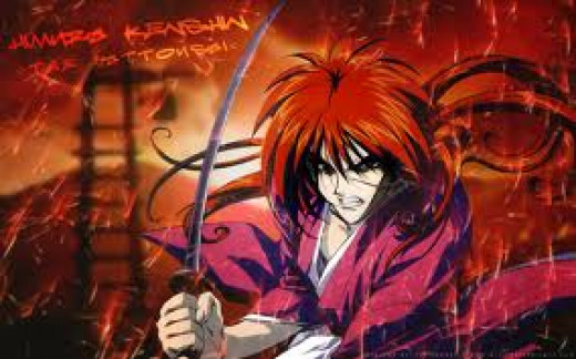 To me, Kenshin is interesting because he manages to be both a warrior and a pacifist, and his vow to never shed blood and the memories of people he did kill weighing on his conscience make him an interesting protagonist.