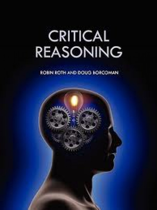Critical Reasoning is a part of your brain that thinks things through.