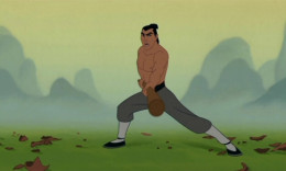 Mulan (c) Disney. Sheng is a model Chinese warrior, as is Mulan, who is based on a Chinese folk hero.