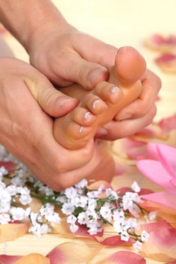 Reflexology - The feet are a mirror of health
