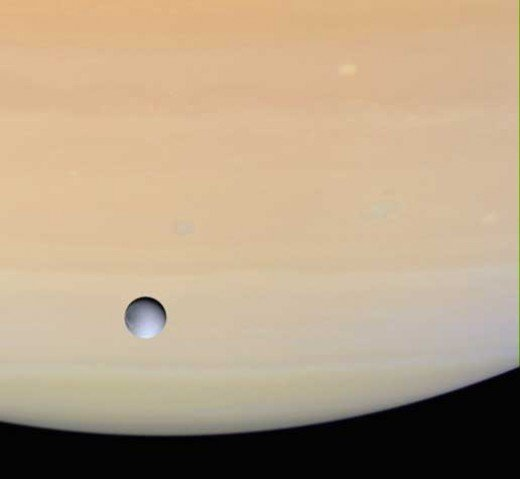 Dione is one of Saturn's moon