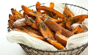 Sweet Potato Fries Straight From The Oven