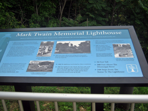 The Mark Twain Lighthouse