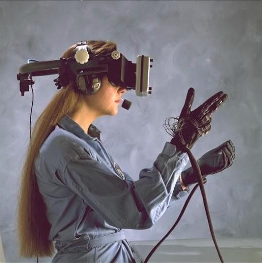 NASA VR tech.