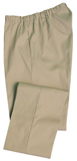 Elasticated waist trouser with pockets and belt loops