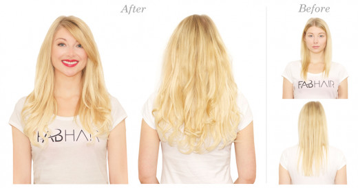 How to do tape in hair extensions hubpages and vola amanda wearing tape in hair extensions pmusecretfo Choice Image