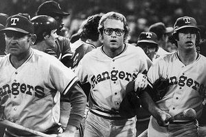 Six Days Before The Promotion, The Rangers And Indians Engaged In A Bench Clearing Brawl