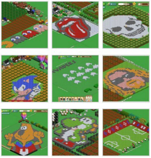 Play Farmville on Facebook with your family and friends for hours of fun. Only one of many great games on Facebook.