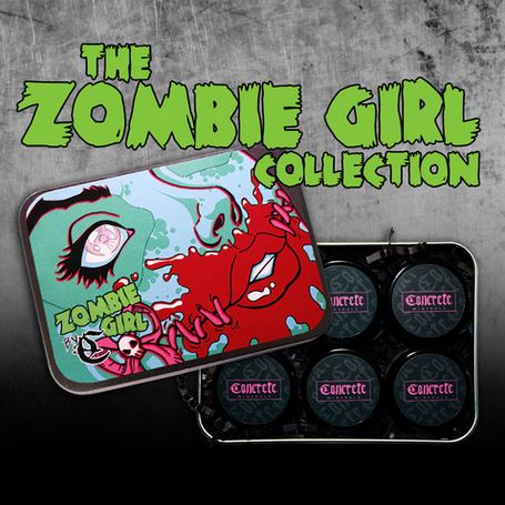 Zombie Girl eyeshadows from Concrete Minerals