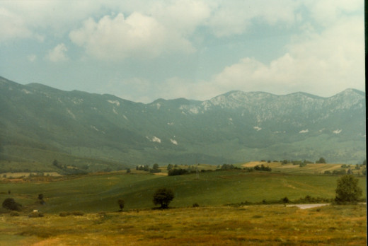 Alps of Yugoslavia