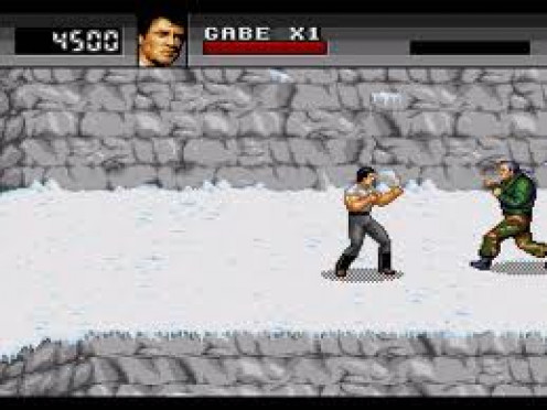 Cliffhanger on Sega CD is based on the action film of the same name starring Sylvester Stallone. It pretty much stayed with the plot of the movie.