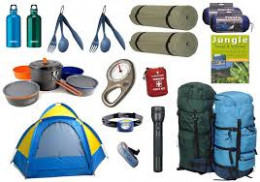 hiking equipments