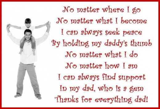 Thanks Mom Thanks Dad Poem Thank You Poem For Dad From a