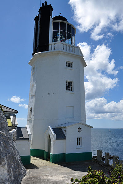 Lighthouses in Cornwall, St Anthony's Head, St Mawes/Falmouth.