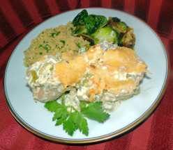 Chicken with Yogurt Sauce Recipe