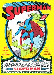 Superman gets his own comic book.