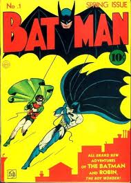 Batman once again swings into action, this time alongside Robin.