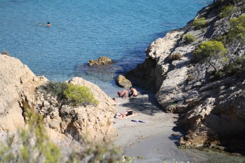 L'Ampolla, Spain - Beautiful little cove