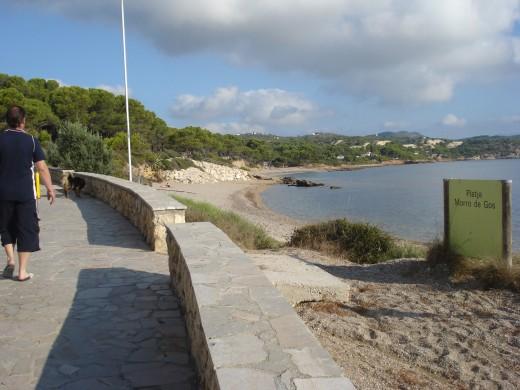 Platja Morro de Gos, L'Ampolla, Spain