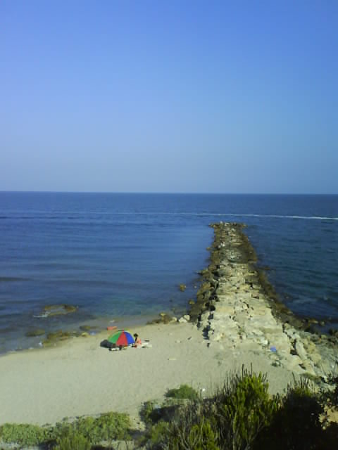 Platja Morro de Gos, Beach Cove in L'Ampolla, Spain