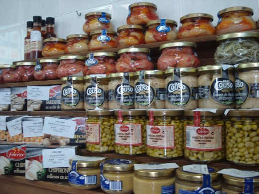 L'Ampolla, Spain - Seafood Market - Housemade Products