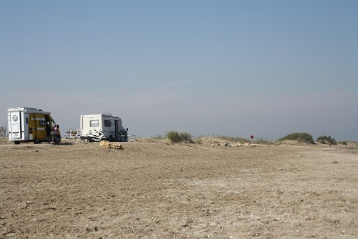 Riumar Beach, Spain - Dog's Beach - Great Camping for Mobilehomes