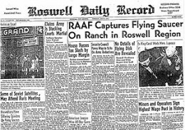 Maybe after all these years we finally know what happened at Roswell.