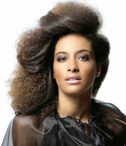 African hair:  (How to maintain natural hair)