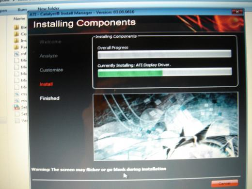 Installing Windows Vista ATI Video driver to Windows 7