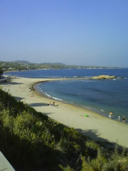 Beach near Les Oliveres Residence, El Perello, Spain