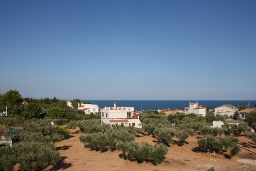 Les Oliveres Residence, El Perello, Spain - view from the bedroom terrace