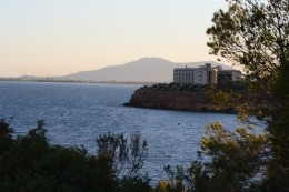 View from Les Oliveres Hotel Resort & Spa, El Perello, Spain