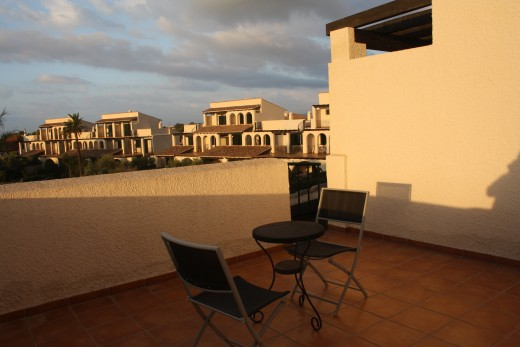 The Sunrise - L'Perrelo, L'Ampola, Spain-  viewing from the solarium