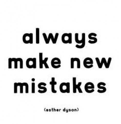 Learn from every mistake