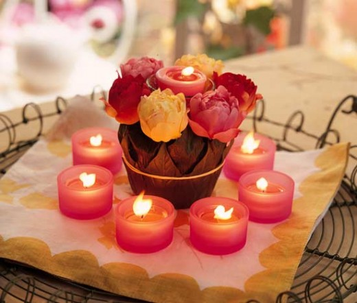 Cheap Yet Charming Centrepieces