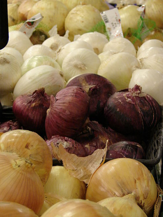 There are many varieties of onions.  All are good for you.
