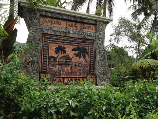 Tanjong Jara Entrance