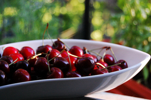 Say ahhh to healthful cherries!