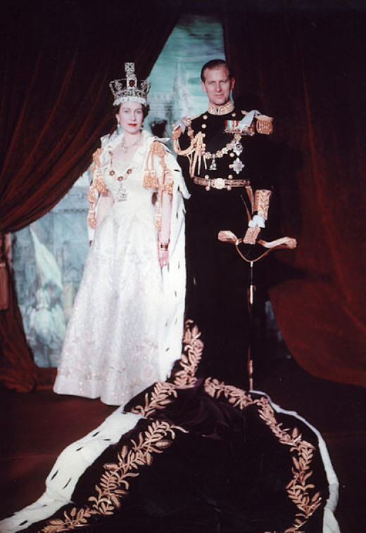 The Queen and Prince Philip celebrated their 65th wedding anniversary in 2012.