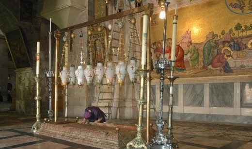 Holy Sepulcher, the Stone of Unction