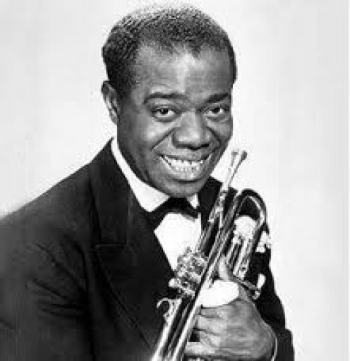 Louis Armstrong could sing and play instruments fluidly. He became one of the most popular jazz artist in history with his unique style.
