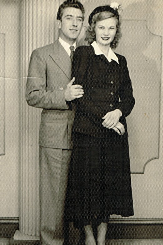 My father and mother are married in 1951