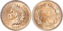 1859 Indian Head Small Cent
