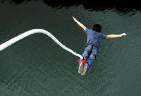 Although Bungee Jumping is not a sport it is still an event that is competitive and frighting to say the least.