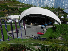 What to Do In Cornwall in July: The Eden Sessions Stage at the Eden Project, St Austell.